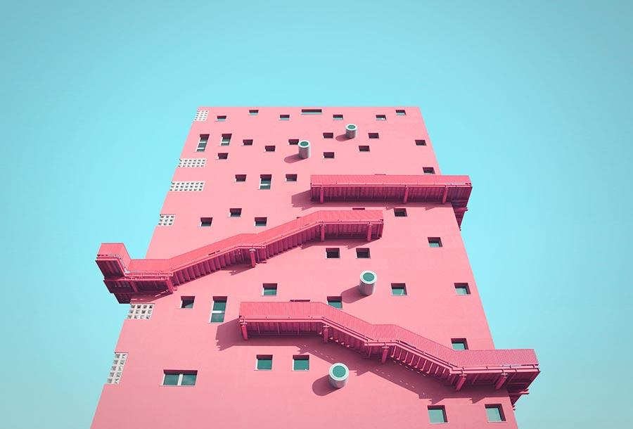 <em>Unknown Geometries</em>, arquitectura minimalista en Milán