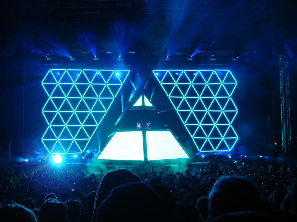 Daft Punk performance