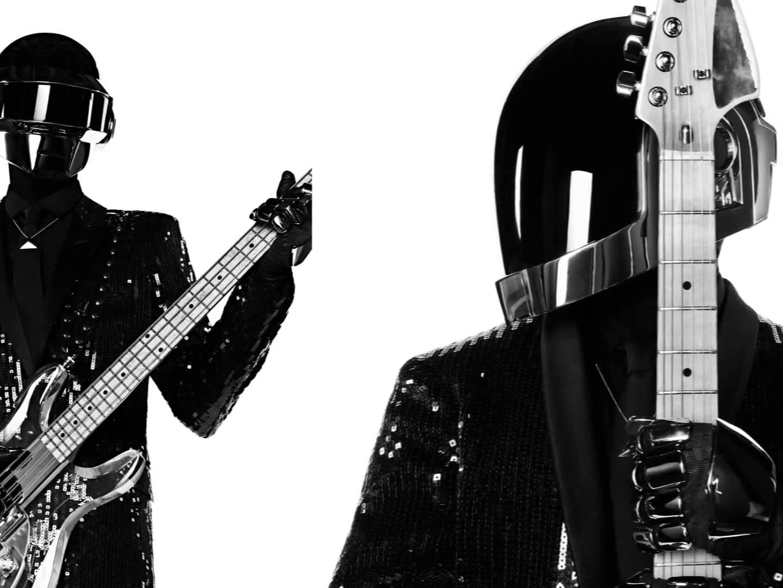 Daft Punk vestidos de YSL