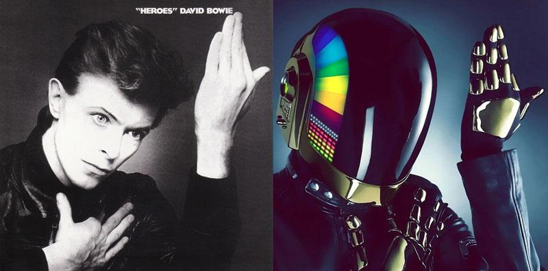 Daft Punk y David Bowie