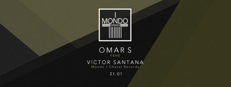 Omar S y Victor Santtana en Mondo Dsiko