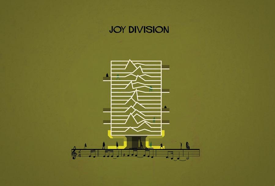 Archimusic: Música convertida en edificios minimalistas