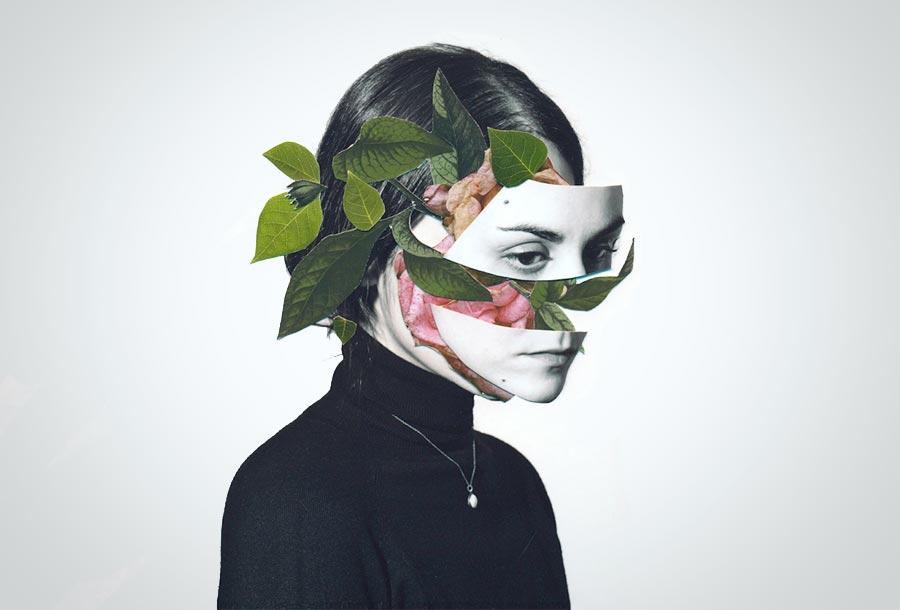 Rocío Montoya Collages Surrealistas