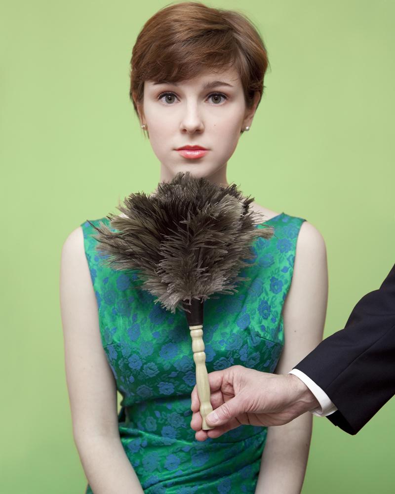En Maine es ilegal para hacerle cosquillas a las mujeres bajo la barbilla con un plumero.