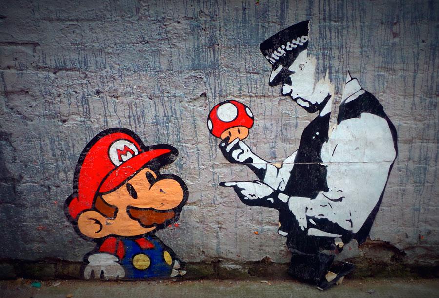 El arte urbano que romperá todos los iconos de tu infancia