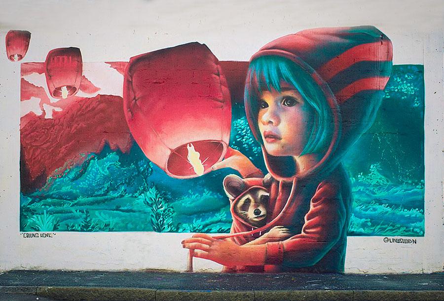 Yash, el arte urbano que te enamorará