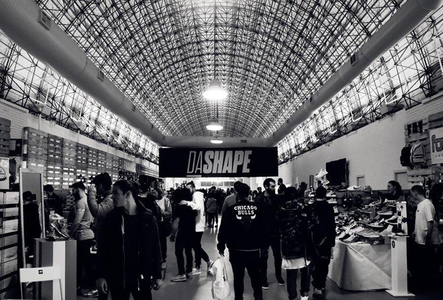 Dashape: los fanáticos de las zapatillas se reúnen en Madrid