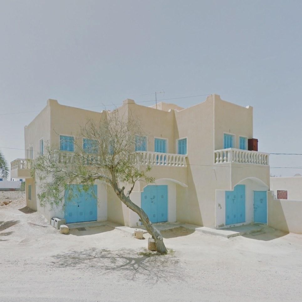 Guellaia, Túnez. Google Street View