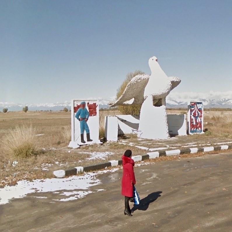 Issyk-Kul, Kirguistán. Google Street View