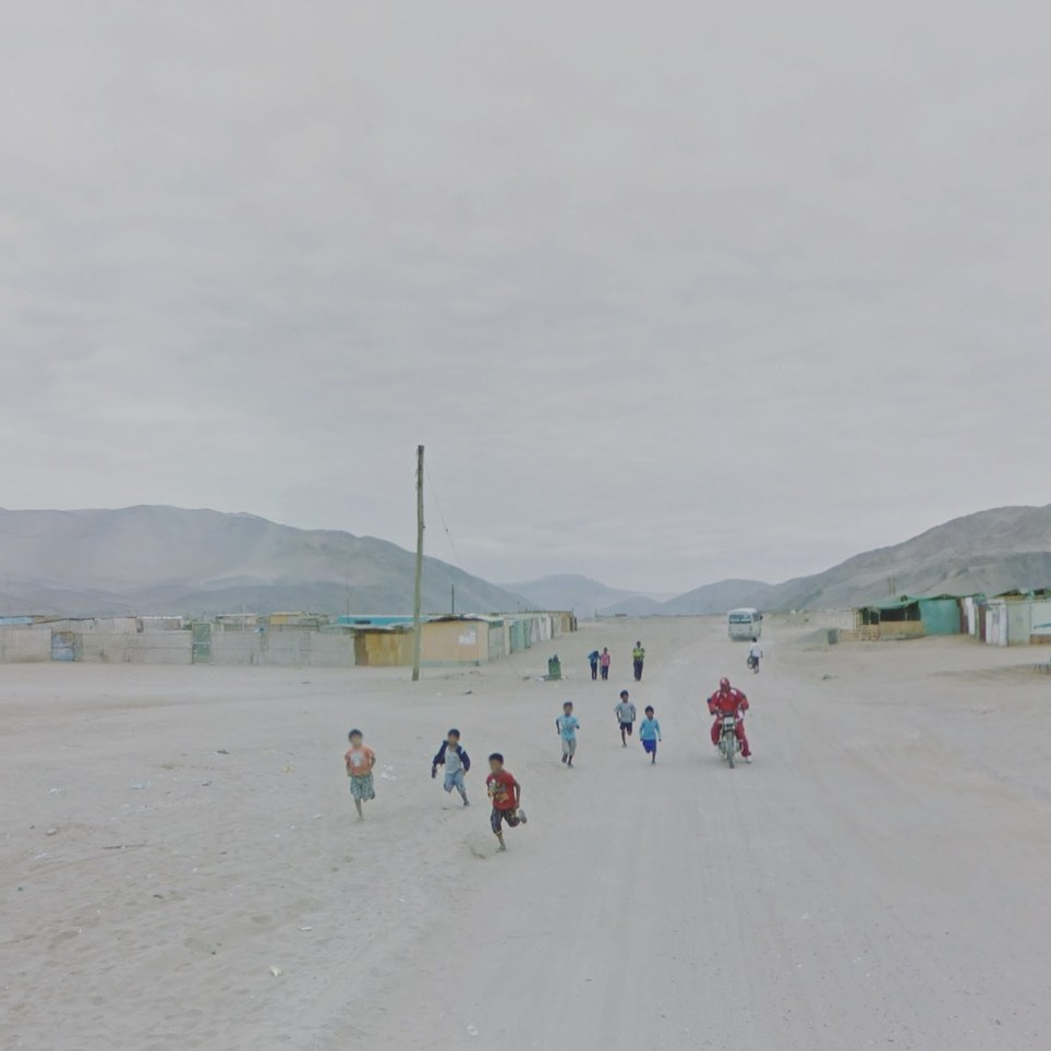 Tacna, Perú. Google Street View