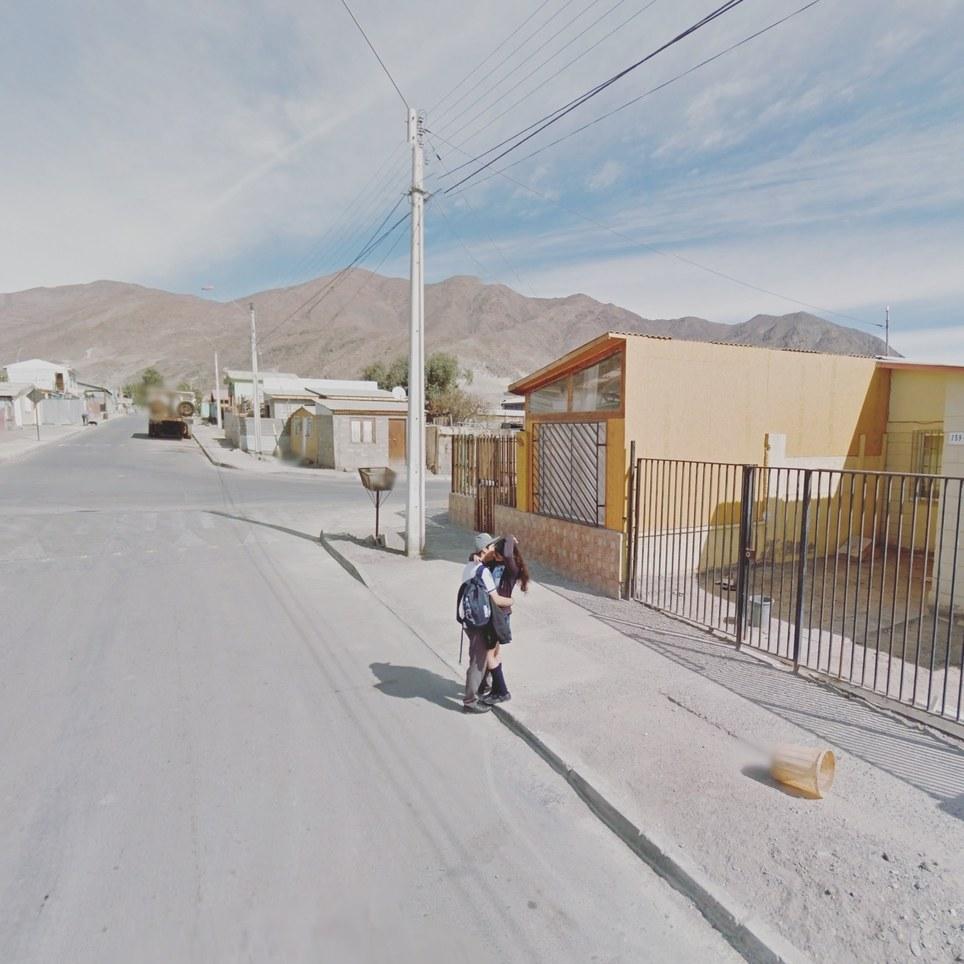 Chañaral, Región de Atacama, Chile. Google Street View