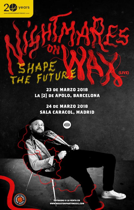 Presenta live en Barcelona y Madrid