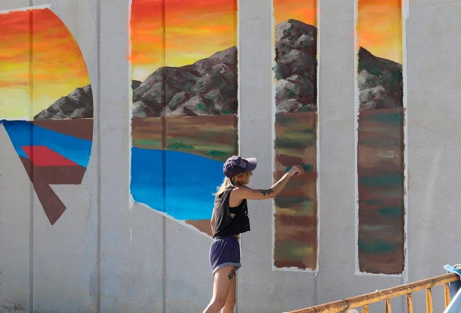 Mallorca Live Festival lleva el arte urbano a la UiB