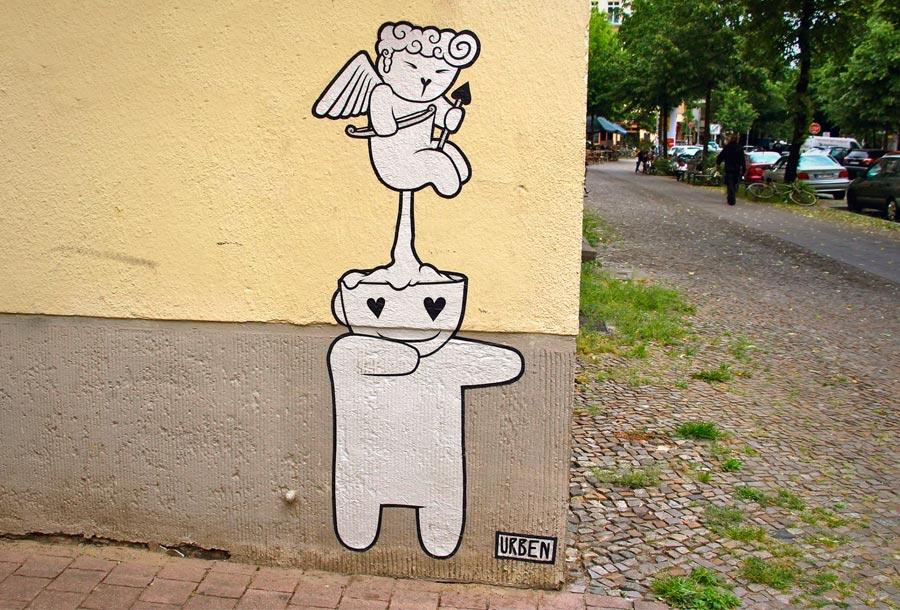 Urben es un graffitero