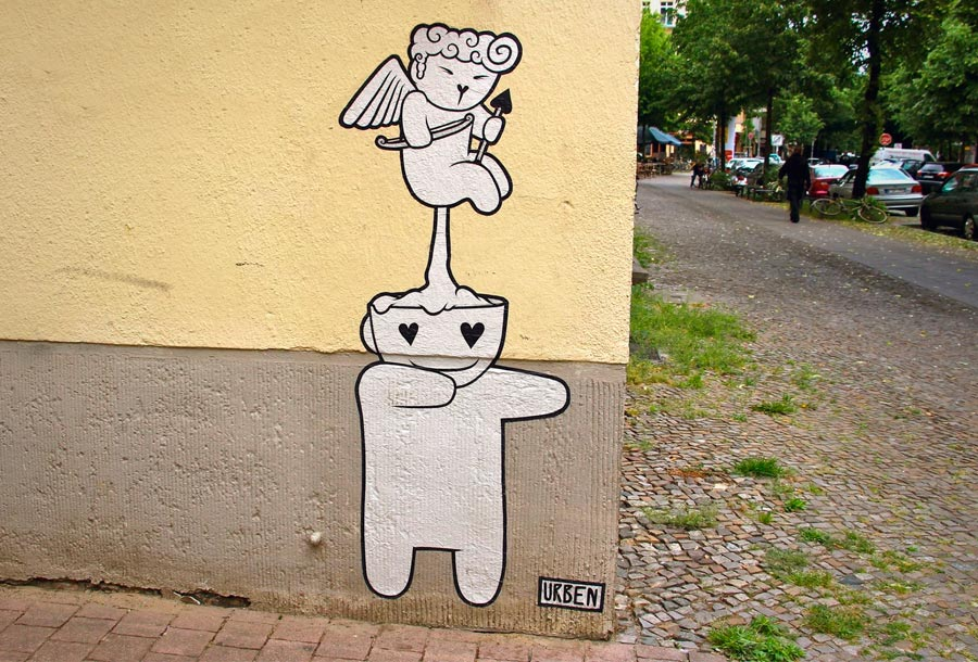 ÜRBEN, divertidos murales en las calles de Berlín