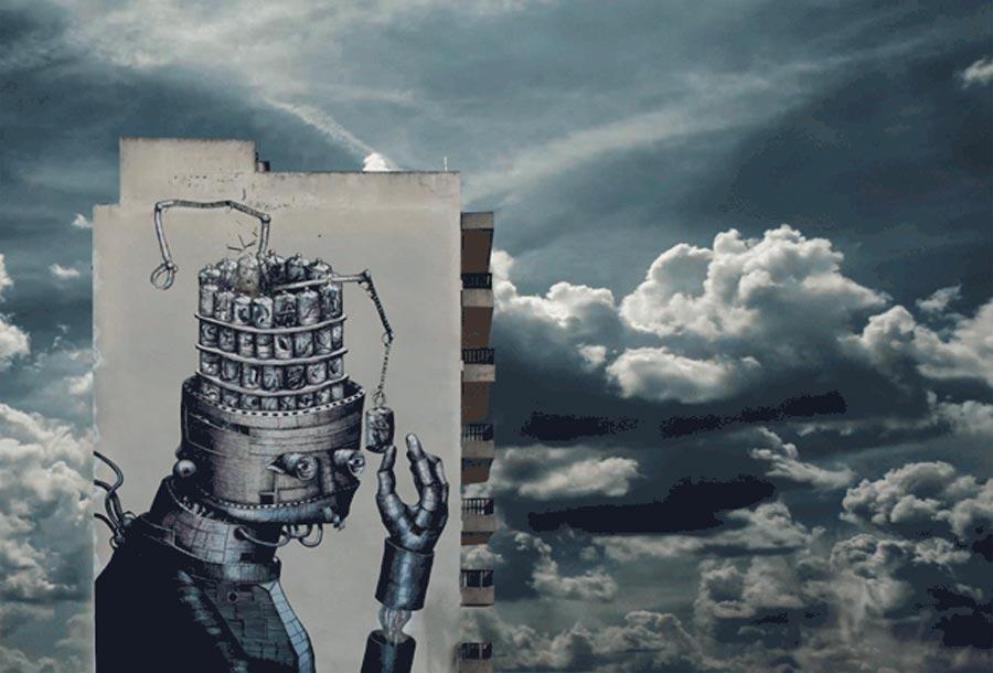 Arte Urbano del artista Al Crego