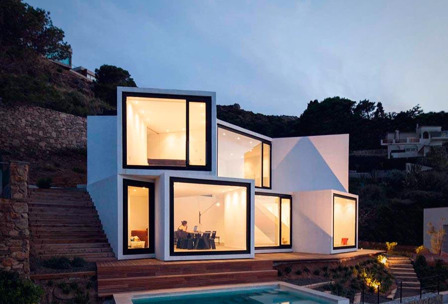 Geometría y minimalismo en la Costa Brava