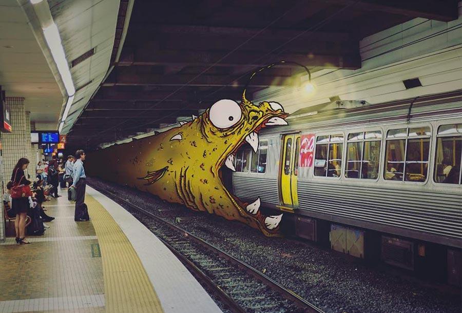 Jasper, los monstruos se adueñan de la ciudad
