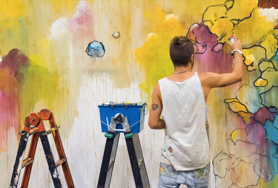 El arte gana importancia en Mulafest 2016
