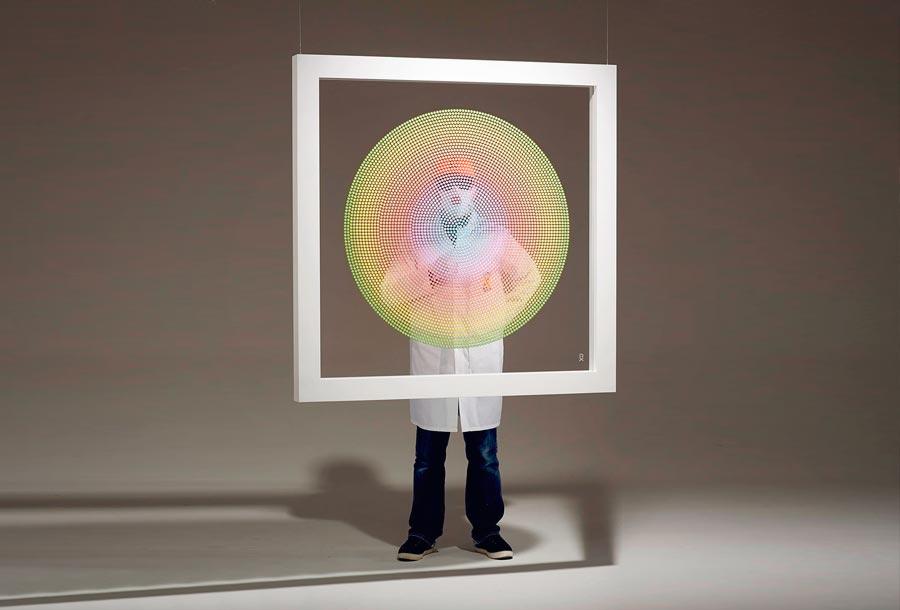 Chemical X: Arte a través de pastillas de Éxtasis