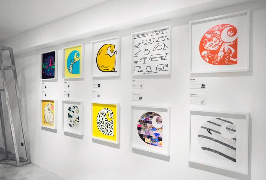 """""""CHAOS"""": Exposición creativa de Carhartt en Taiwan"""
