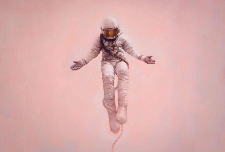 Las fantasías espaciales de Jeremy Geddes