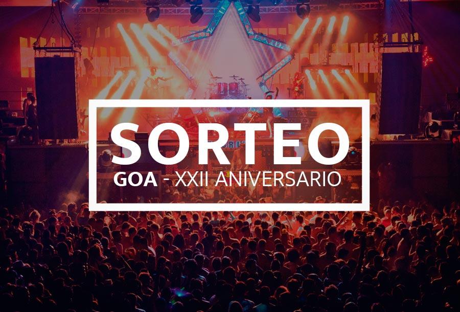 Sorteo GOA XXII Aniversario