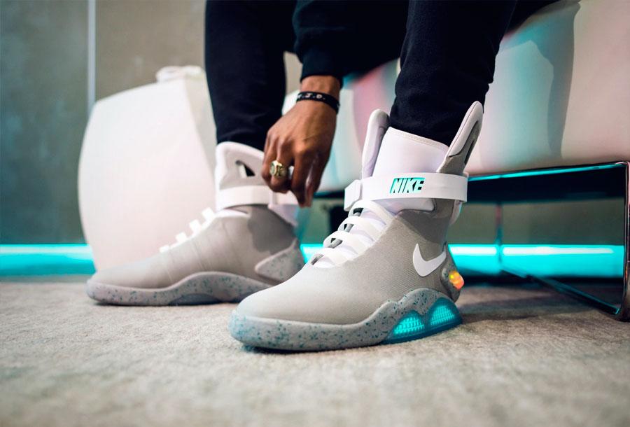 Nike Mag: Las zapatillas con robocordones son una realidad