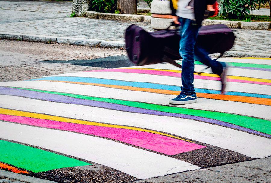 Urbanitas, arte para los pasos de cebra en Madrid
