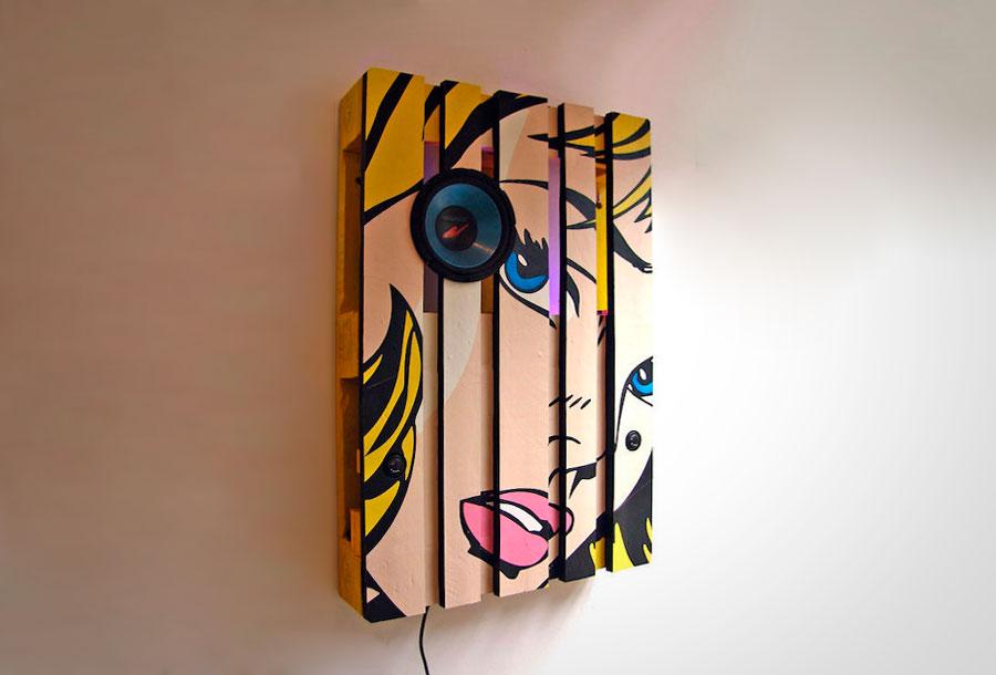 Kone Mei: Arte con palets