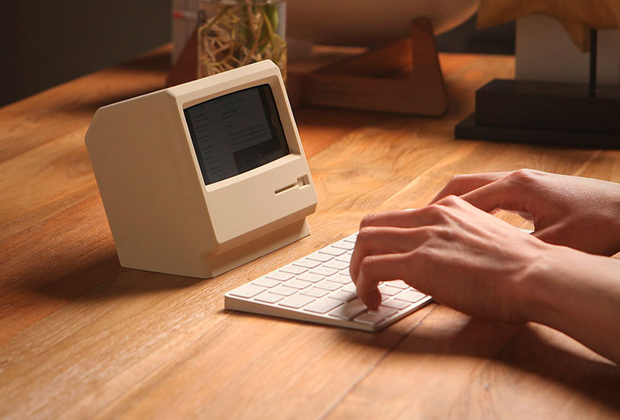 Convierte tu iPhone en un antiguo Macintosh