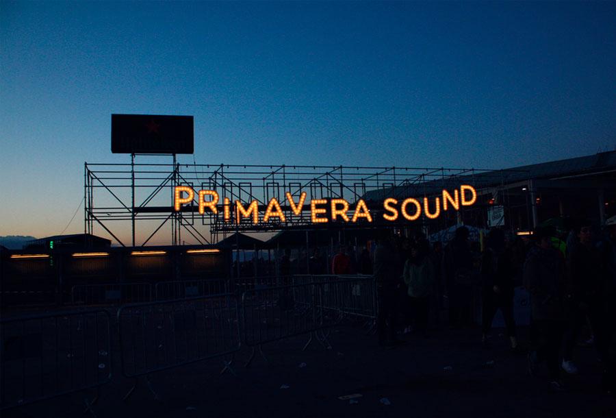 La electrónica invade el Primavera Sound