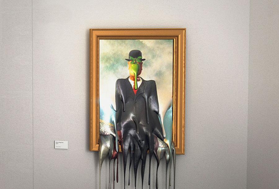 """""""Hot Art Exposition"""", obras de arte derretidas en tus ojos"""
