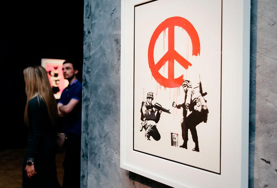 Banksy, Genius or vandal?