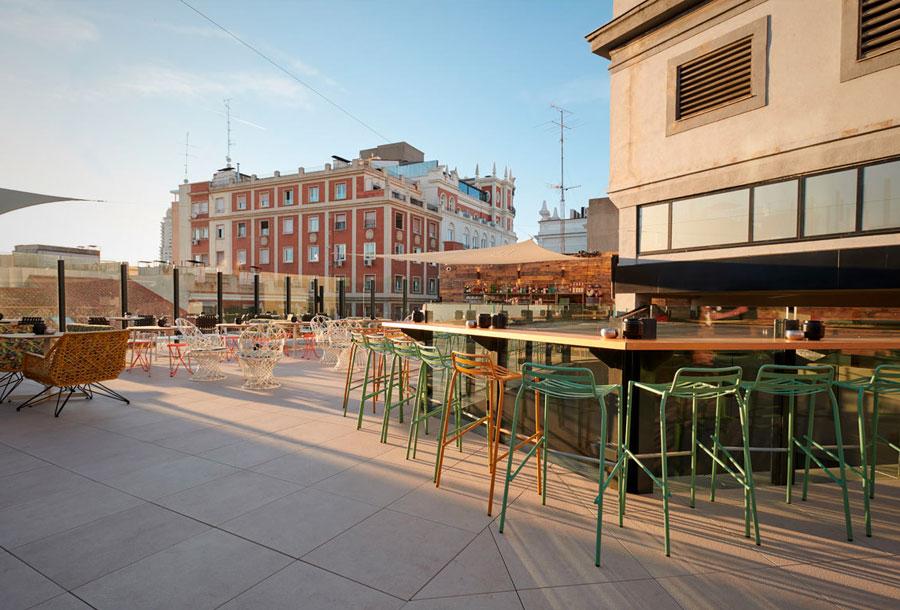 De Madrid al cielo en la terraza del Generator