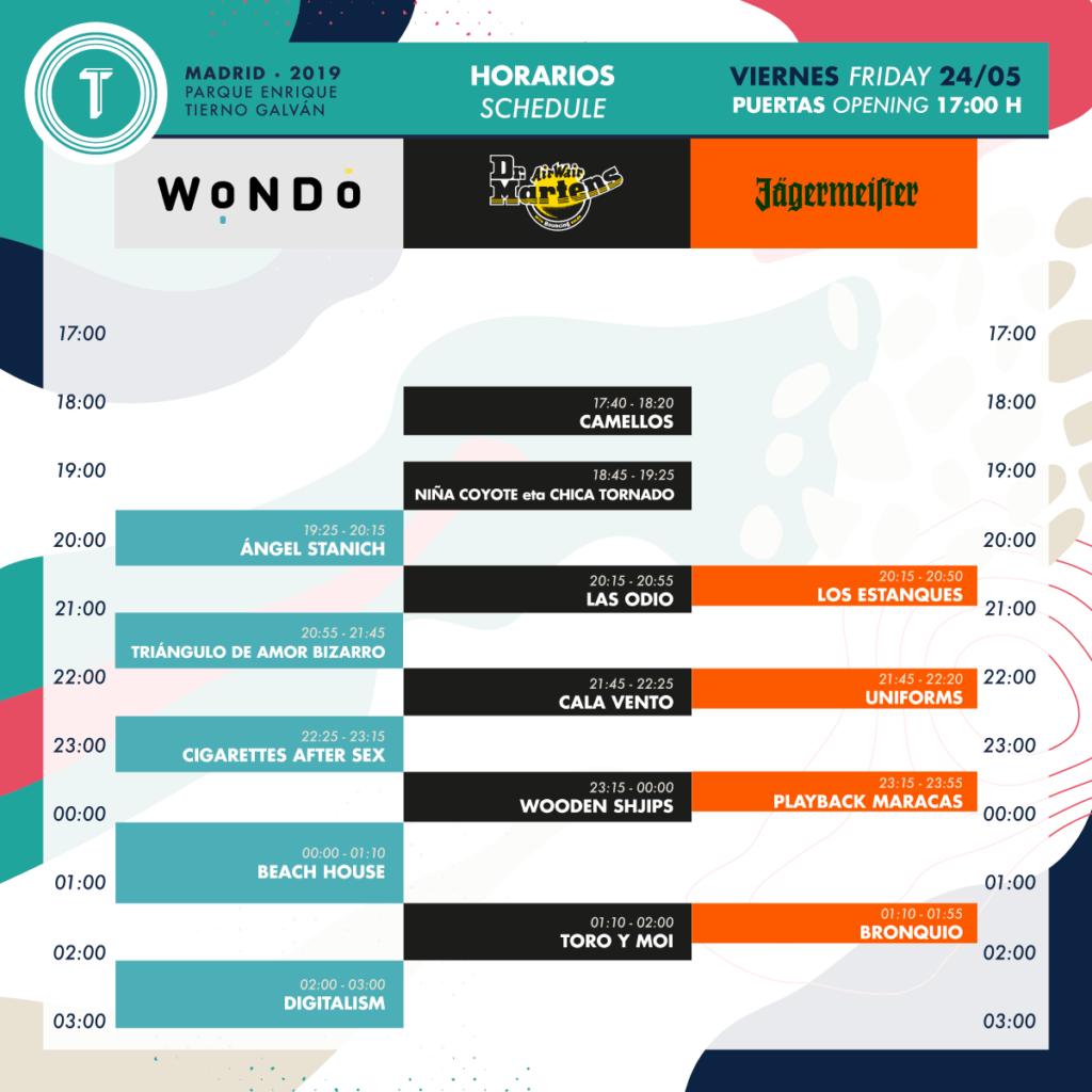 Festival Tomavistas: horarios